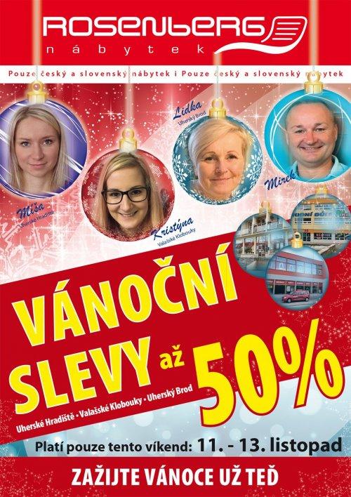 VÁNOCE UŽ TENTO VÍKEND - SLEVY AŽ 50% !!